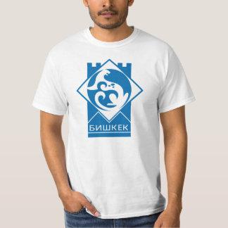 Bishkek Kirgizistanvapensköld Tee Shirts