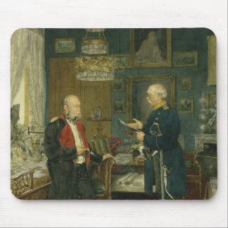 Bismarck med kejsaren Wilhelm mig Musmatta