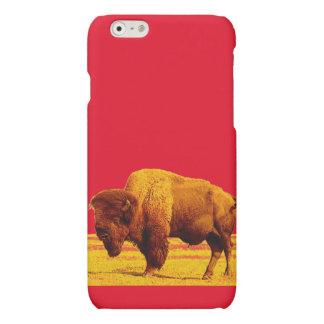 Bison-/buffelkonstiPhone 6 fodral