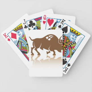 Bisonbuffelvektor Spelkort