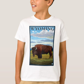 Bisonplats - Wyoming T Shirts