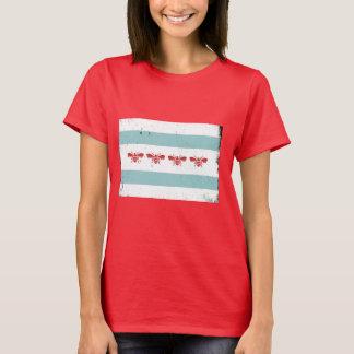 BistilChicago flagga T Shirts
