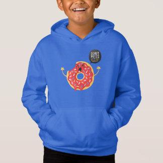 Bita för munk för coola för blåttpojkeHoodie som Tshirts