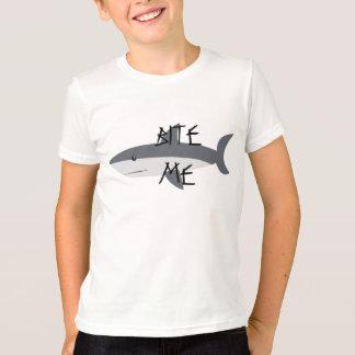 Bita mig pojket-skjortan t shirt