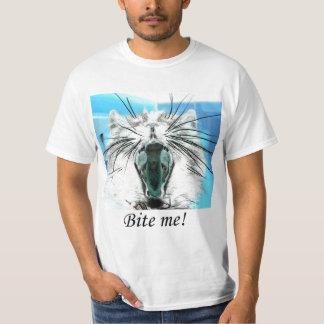 bita mig T-skjortan Tröja