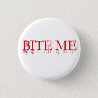 Bita mig vampyren mini knapp rund 3.2 cm