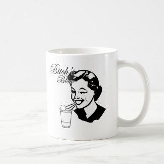 Bitchs slag kaffemugg