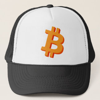 Bitcoin 3D logotyp NasDesign Keps