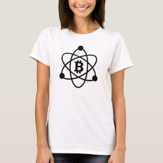 "Bitcoin (btc) ""atom"" dam tshirt tee"