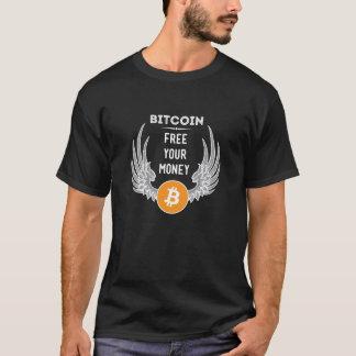 Bitcoin frigör dina pengar t-shirt