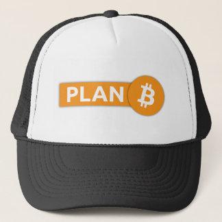 Bitcoin gruvarbetare truckerkeps