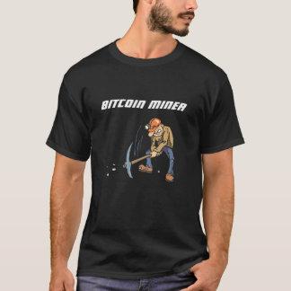 Bitcoin gruvarbetaret-shirt. t-shirts