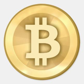 Bitcoin klistermärke