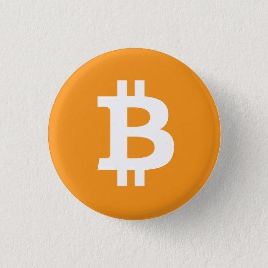 Bitcoin logo knapp