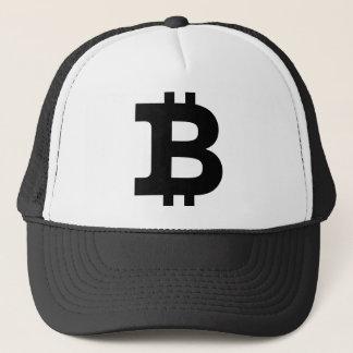 Bitcoin logotyp truckerkeps