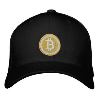 Bitcoin logotyphatt broderad keps