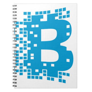 Bitcoin Merchandise Anteckningsbok Med Spiral