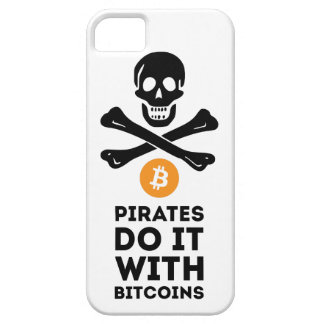 Bitcoin piratfodral barely there iPhone 5 fodral