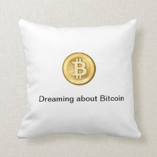 Bitcoin pride kudder dekorativ kudde