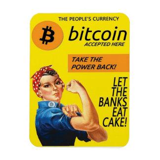Bitcoin propagandamagnet flexibel magnet