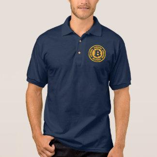 Bitcoin revolution (den engelska versionen) polo tröja