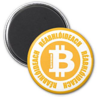 Bitcoin revolution (den irländska versionen) kylskåps magneter