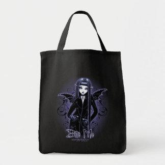 """Biter gotiska blått """"för Mina"""" mig vampyren som de Mat Tygkasse"""