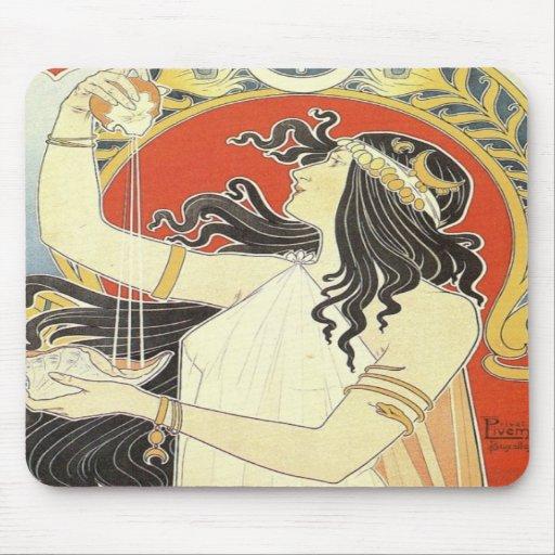 Bitter orientalisk art nouveau musmatta