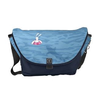 BixTheRabbit hänger lös samlingen Messenger Bag