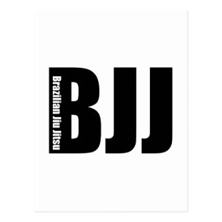 BJJ - Brasilianska Jiu Jitsu Vykort