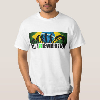 BJJ-evolution kartlägger (den Grapplers) Tee Shirt