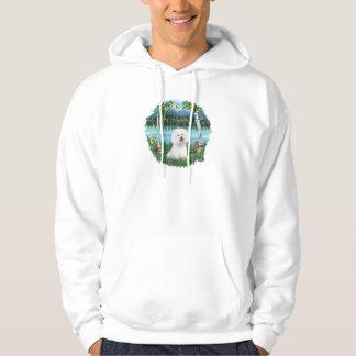 Björkar - Bichon Frise 1 Sweatshirt Med Luva