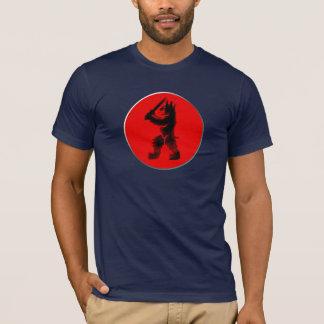 Björn för dåliga för Rampartbjörn stor T-shirt