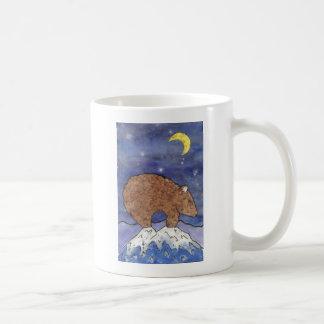 björn i extraknäcka kaffemugg