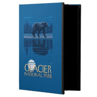 Björn i månsken - glaciärnationalpark, MT Fodral För iPad Air