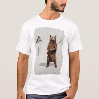 Björn med en pistol tröjor