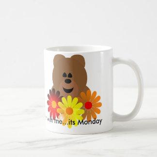 Björn med mig… dess Måndag Kaffemugg