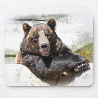 Björn med mig musmatta