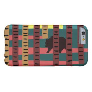 Björn som går i skogen barely there iPhone 6 skal
