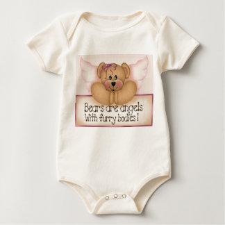 Björnar är änglar body för baby