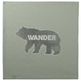 Björnen irrar vintage (v1) tygservett