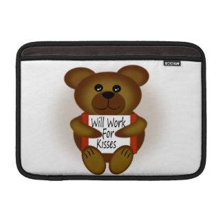 Björnen undertecknar MacBook air sleeve