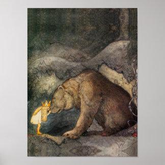 Björnkyss Affisch