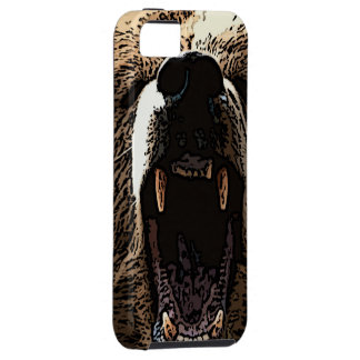 Björnsamtal (grizzlyen) iPhone 5 Case-Mate cases