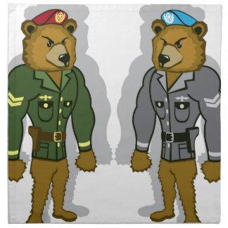Björnsoldat Tygservett