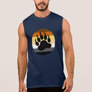 Björntassen i björnpride cirklar (stort bekläda), ärmlös tröja