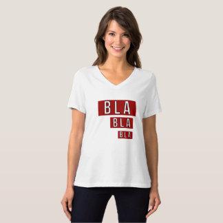 Bla Bla röda Bla T-shirt