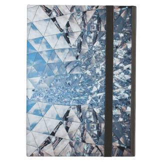 Blå himmel i kristaller fodral för iPad air