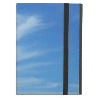 Blå himmel med fotoet för natur för vitmoln det iPad air fodral