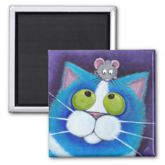 Blåbär och Mousey magnet för Wee